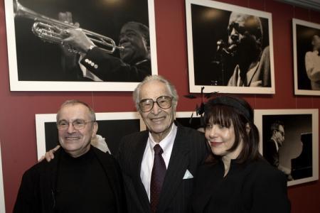 Dave Brubeck z Ryszardem Horowitzem i jego żoną Anią