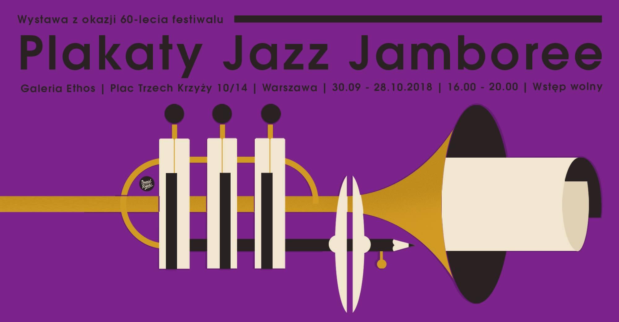 Plakaty Jazz Jamboree Na 60 Lecie Festiwalu Jazz Forum